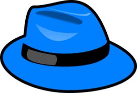 blue santa hat blue santa hat clipart 9