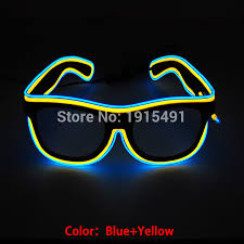 famous birthday party decor neon led bulbs flickering glasses