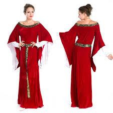 Harry Potter Halloween Costumes Adults Aliexpress Buy Women U0027s Renaissance Court Red Civil War