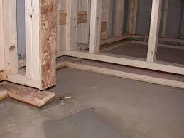 floating floor in basement basements ideas