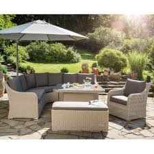 salon canapé salon de jardin madrid kettler résine canapé d angle table
