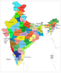 North India Map by Geography Blog Maps Of India States And Capitals Of India