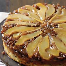 pear and pecan upside down cake recipe myrecipes
