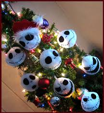 skellington ornaments by onebadhat on deviantart