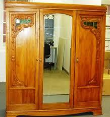 Art Nouveau Wardrobe Wardrobes And Bedroom Suites Antique - Art nouveau bedroom furniture