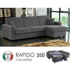 canape d angle convertible rapido canapé d angle convertible réversible coloris gris pas