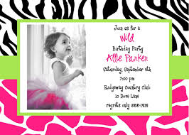 Birthday Party Invitation Cards Free Printable Luxury Birthday Invitations Cards Kids With Zebra Print Background