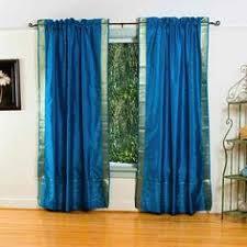 3 Inch Rod Pocket Sheer Curtains Sheer Sari 84 Inch Purple Rod Pocket Curtain Panel Pair Handmade