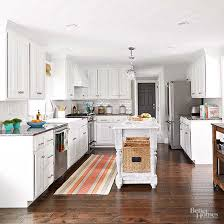white kitchen cabinets wood floors select the best wood for your kitchen floor better homes