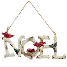 birch word ornament noel express