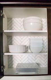 Kitchen Cabinet Wallpaper Quick  Easy Update With Big Impact - Kitchen cabinet wallpaper