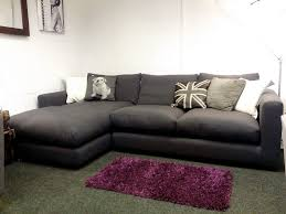 Sofa Bed For Sale Cheap debenhams rjr john rocha trinity grey left hand corner sofa only