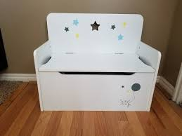 Kids Bench With Storage Timy Wooden Kids Storage Bench Toy Chest White Youtube
