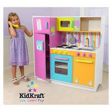grande cuisine enfant grande cuisine dinette enfant de luxe en bois kidkraft maison