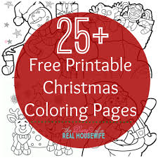 free fun christmas coloring pages coloring kids