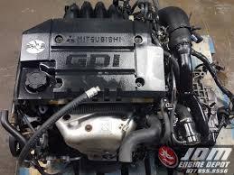 03 07 mitsubishi lancer 1 8l dohc gdi turbo engine u0026amp