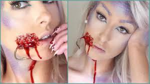 Mermaid Halloween Makeup Ideas Mermaid In A Hook Sfx Halloween Tutorial Youtube