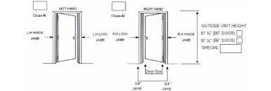 Pre Hung Closet Doors Prehung Door Dimensions Interior Doors 5 Enjoyable Drawing Pre