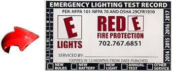 nfpa 101 emergency lighting red emergency lights nevada fire extinguishers nevada