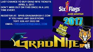 Six Flags Payments Sphs Senior Gradbash Sphsseniorgradb Twitter