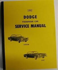 1962 dodge dealer taxi cab sales brochure dart lancer original