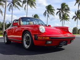 1990 porsche 911 red porsche 911 carrera sixth generation 1984 to 1989