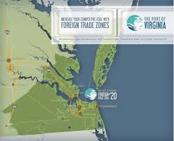 Map Of Virginia Beach Foreign Trade Zone 20 Port Of Virginia