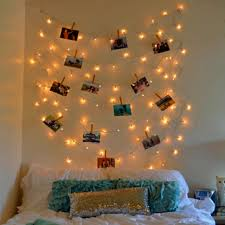 Decorative String Lights Bedroom 40 Home Decoration Ideas With String Lights Lights