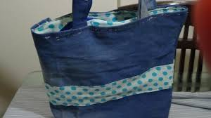 pattern for tote bag with zipper how to make a bag and insert zip in a lined bag youtube