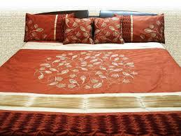 Orange Comforter Burnt Orange Single Duvet Cover Orange Horizontal Stripe Duvet
