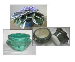 Small Self Watering Pots Lj Accents Self Watering African Violet Pots U0026 Planters