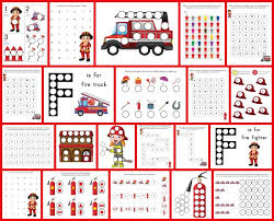 fire fighter dot printables gift curiosity
