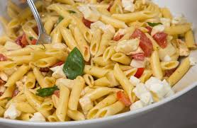 penne with tomato and feta recipe sparkrecipes