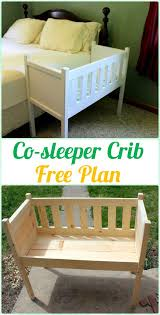 Cheap Baby Beds Cribs Diy Co Sleeper Crib Diy Baby Crib Projects Free