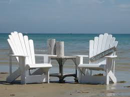 cape cod adirondack chairs in rustique