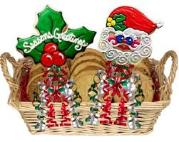 christmas cookie bouquets create a tasty christmas centerpiece