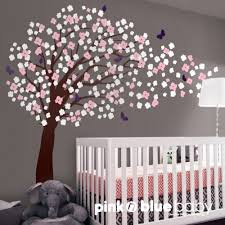 Cherry Blossom Wall Decal For Nursery Tree Decals For Nursery Nursery Wall Decal Deco