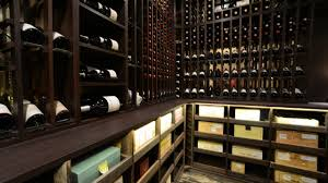 wine cellar made with wenge