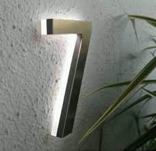 light up address sign most decorative lighted house numbers invisibleinkradio home decor
