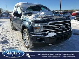 new 2018 ford f 150 limited in calgary 18f16745 maclin ford
