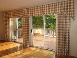 Brown Gingham Curtains Brown Gingham Patterned Living Room Curtains With Customized Ascot