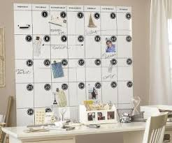 Pottery Barn Calendar Office Supplies Wall Sized Magnetic Whiteboard Calendar