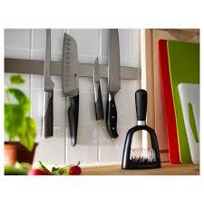 grundtal magnetic knife rack stainless steel 40 cm shelves