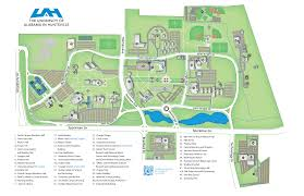 Usa Campus Map by Uah Otc About Us Directions