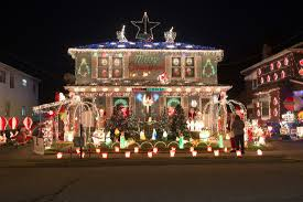 100 christmas house decorations houses decorated house