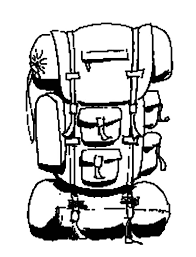 coloring appealing drawing backpack coloring