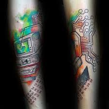 50 computer tattoo designs for men tattoos for men pinterest