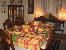 home decor rustic thanksgiving table setting in
