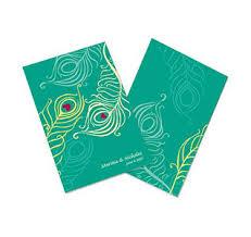 peacock wedding programs wedding programs personalized wedding programs