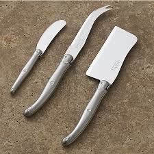 Laguiole Kitchen Knives Laguiole Cheese Knife 3 Set In Cheese Boards Knives